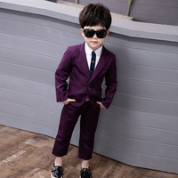 High Quality Boys Suits for Wedding Blazer Suits for Boys Formal Blazer and Jackets Suits Jacket + pants 2 piece
