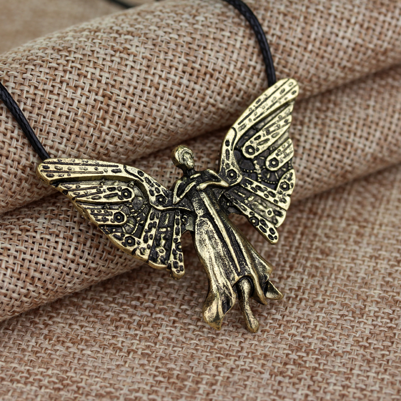 Mortal Instruments Tessa's Clockwork Angel Necklace