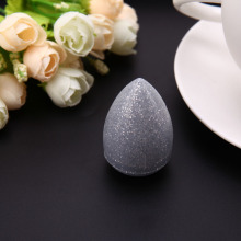 1 Pcs Makeup Sponge Big Size Bling Shiny Women Blender Foundation Girls Cosmetic Puff Smooth Powder Make Up Tools 2colors