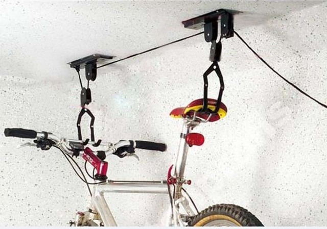 Free Shipping 2 Sets Of Ceiling Hanging Moute Bike Lift