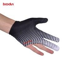 Boodun 1 шт. Кии бильярдный бассейн шутеры 3 пальца перчатки бильярдные перчатки для снукера Высокое качество Аксессуары для бильярда