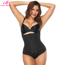 ebb416f3d Lover-Beauty Hooked Tummy Tuck Girdle Belt Body Corset Underbust Fajas  Shapewear Body Control Shaper Women Latex Waist Trainer