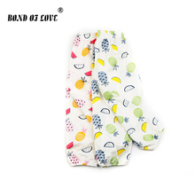 Newborn Baby Pants Pineapple Printed Children Clothing Toddler Boys Girls Full Length Loose Cotton Clothes For Kids