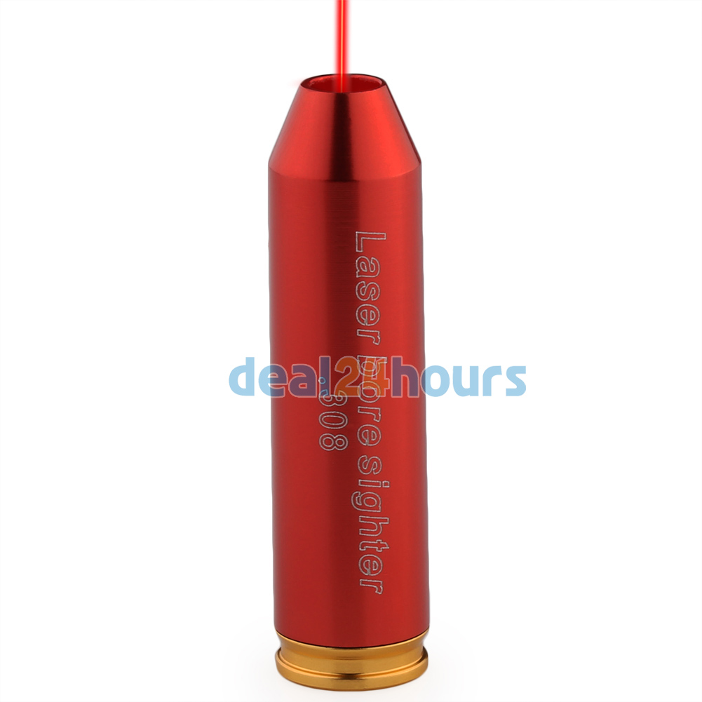 Red .243 308 Cartridge Red Laser Sight Boresighter Bore Sighting Sight Boresight Shotgun FREE Shipping