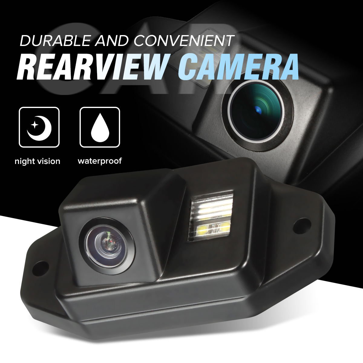 HD CCD Car Rear View Camera Back Up Reverse Parking WaterProof For Toyota Prado Land Cruiser 120 2002-2009 Prado 2700 4000
