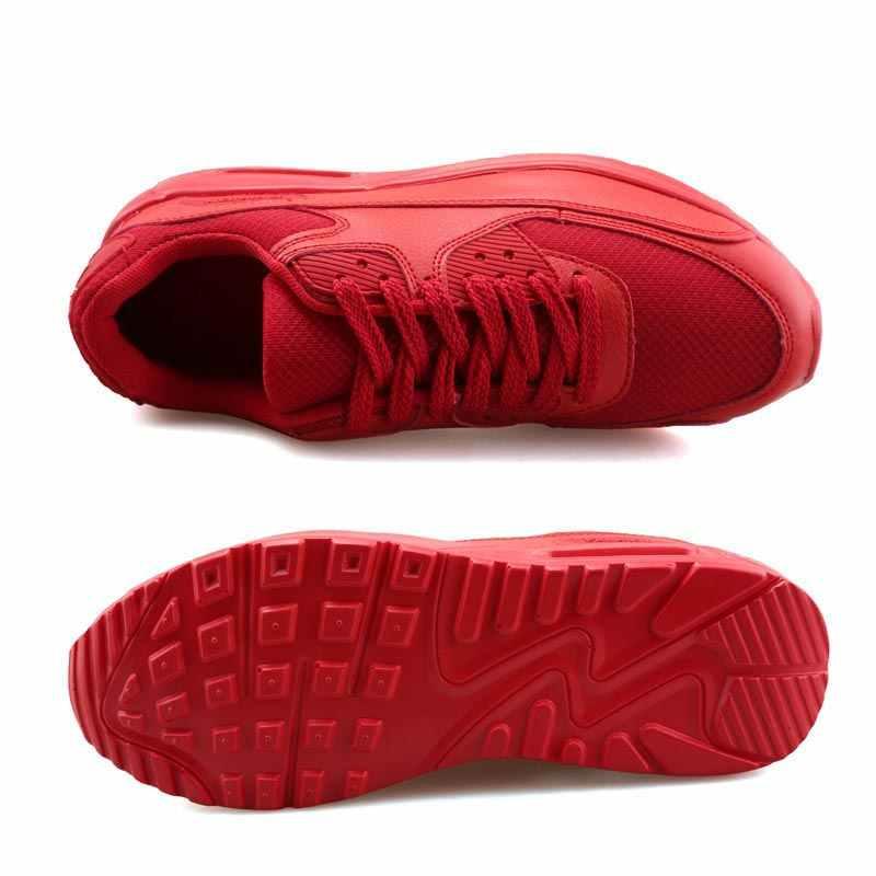 Hundunsnake Lưới Chạy Bộ Cho Nam Giày Thể Thao Thể Thao Người Sneakers Nữ Krasovki Nam Mùa Hè 2019 Giày Đỏ Bóng B-039