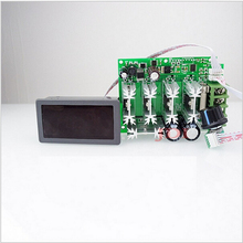 Alta potência 12v 48 48v dc 30a display digital pwm hho rc controlador de velocidade do motor dc 12v 24v 36 48v interruptor de controle do motor