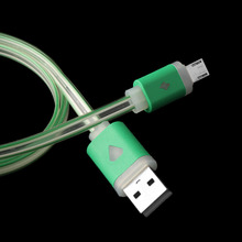 1PC LED String Light Micro USB Wire LED Visible Light Charger Cable Data Sync for Android Smart Phone Connector Hand Tool Sets