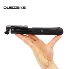 Duszake Wireless Bluetooth Selfie Stick Mini Extendable Monopod Selfie Stick Universal For iPhone 8 X 7 6s Plus For Xiaomi