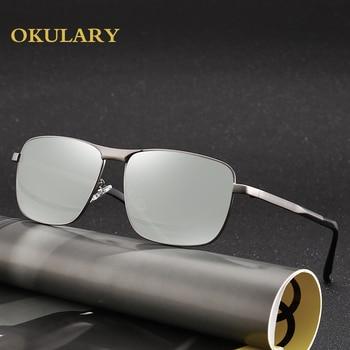 Men Polarized Sunglasses Brown/Black Metal Frame UV400 Men Driving Sunglasses Come With Box