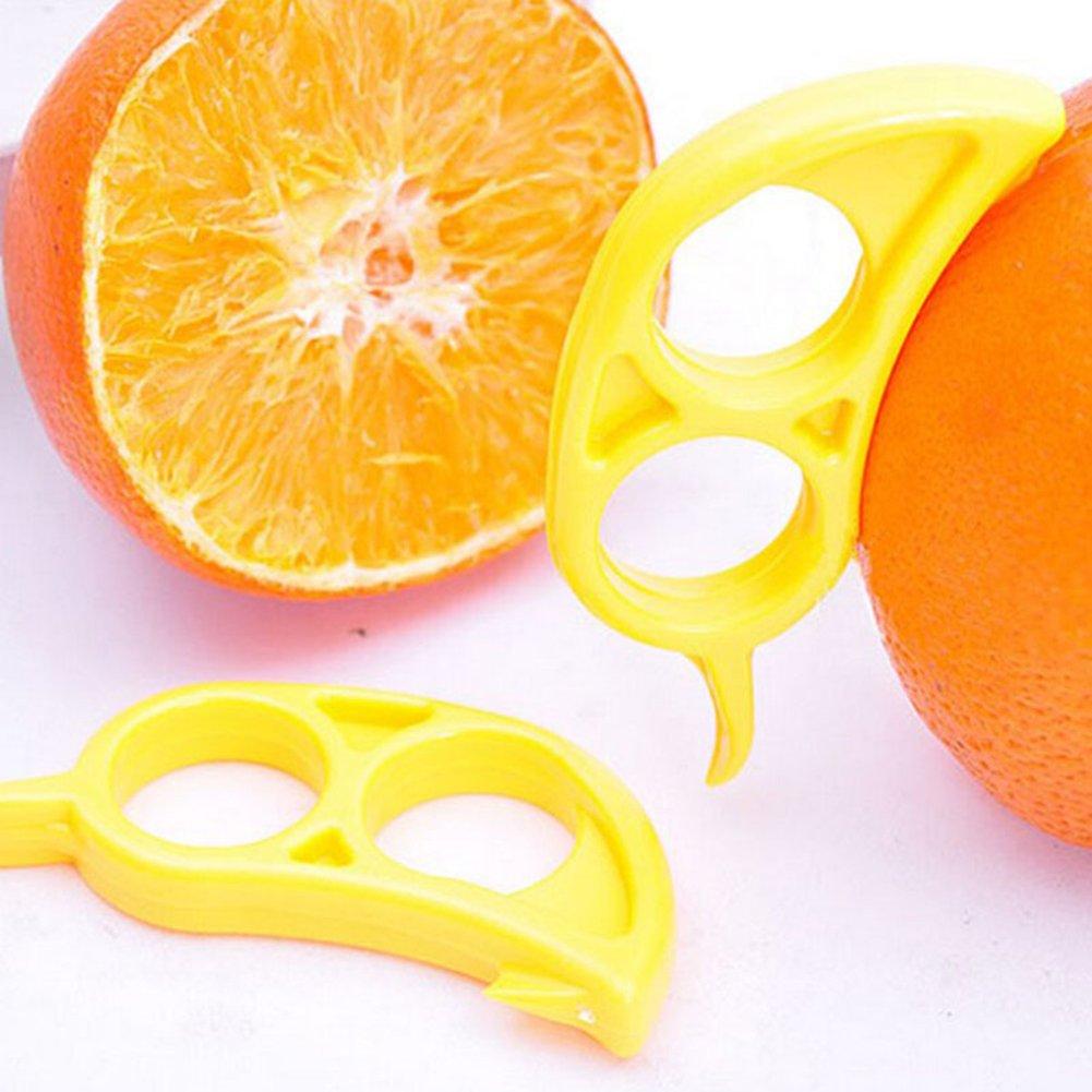 Lemon strip peelers