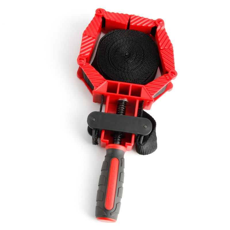 Multifunction Blet Clamp for Woodworking 4m Nylon Adjustable Polygonal Clip Right Angle Clamps