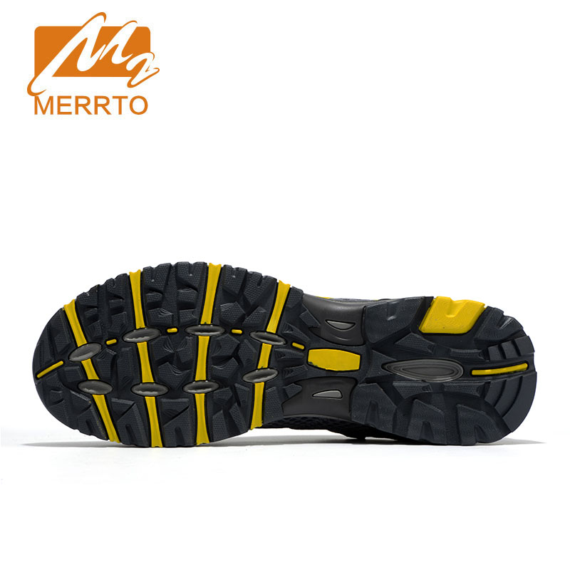 Merrto Men Walking Shoes Breathable Sneaker Lightweight Outdoor Trekking Shoes For Men Breathable Air Mensh Hiking Shoes