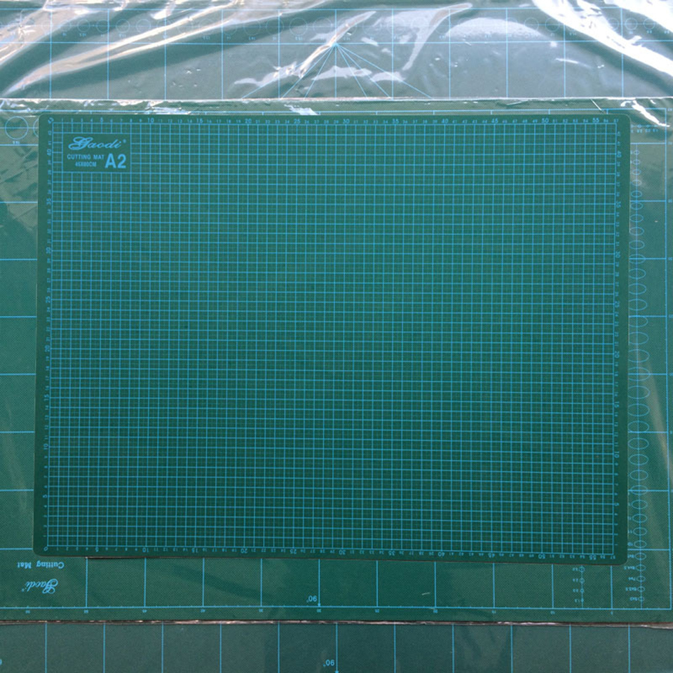 Good Quality A2 60x45cm Green Self Healing Vinyl Cutting Mat For Vinil Film Paper Cutting & Design MX 142 A2 DHL Free Shipping-in Car Stickers from Automobiles & Motorcycles