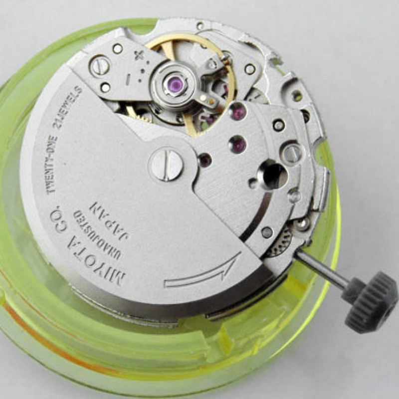 21 Jewels Miyota 8215 Automatic Movement Could Substitute Mingzhu DG2813 Automatic Movement Watches For Parts