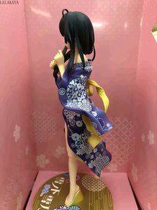 Image 4 - 1 قطعة أنيمي skytube بلدي التين كوميديا رومانسية اللخبطة Yukinoshita Yukino كيمونو البشكير فير. 1/7 PVC عمل نموذج لجسم دمية على شكل عروسة