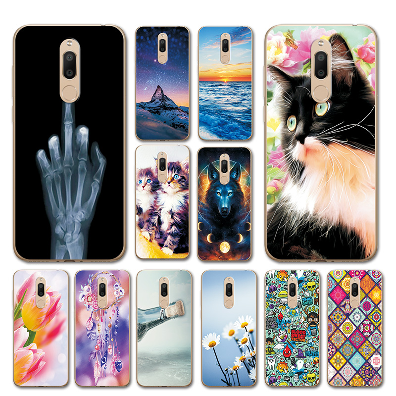 Beautiful Fundas For Meizu M6T M811H 5.7'' Cases Cover Love Heart Silicon M811H Phone Shell For Meizu M 6T Phone Bags Capa