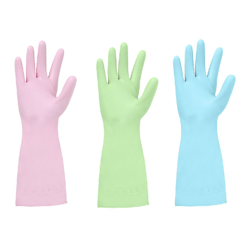 Image 5 - 1 Pair High Grade Antiskid Dish Washing Gloves Rubber Cleaning Silicone Glove Kitchen Household Easy Washing Hand Protect Gloves-in Household Gloves from Home & Garden