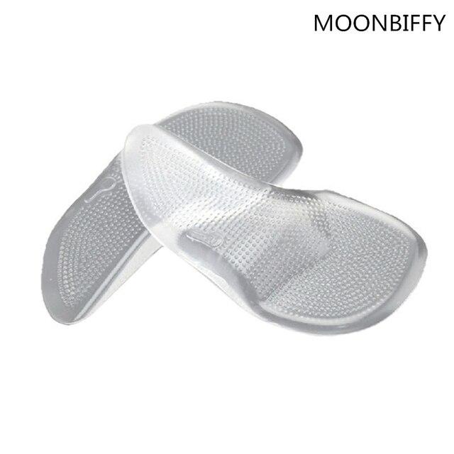 1 Pair Gel 3/4 Arch Hỗ Trợ Chỉnh Hình Cushion Pad Chân Phẳng Lót Chỉnh Hình cho Giày Người Đàn Ông Phụ Nữ