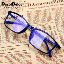 Anti Light Glasses Ray Blue Fashion Anti Blue Fatigue Protection Blocking Goggles Eye Square Radiation Computer 2019 New цена