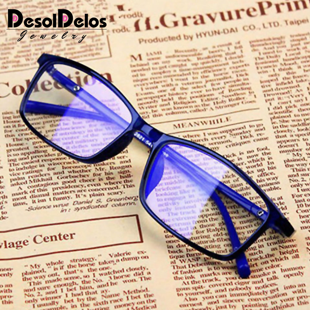 Anti Light <font><b>Glasses</b></font> Ray Blue Fashion Anti Blue Fatigue Protection Blocking Goggles Eye Square Radiation Computer 2019 New image