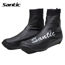 Santic Cycling Shoes Cover Black Road Bike Bicycle Overshoes Windproof cubre zapatillas ciclismo Bike Cover Shoe Sports 5C09039H