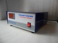 100 KHZ 300 W Gerador De Alta Freqüência ultra-sônica  100 khz Ultrasonic Generator transdutor
