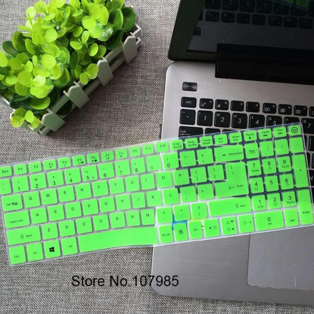 15.6 polegada 15 Teclado de Silicone Protetor Tampa Da Pele para Acer Aspire 5 A515 A515-15 A515-15G E5-523G E5-576G E5 523G 575G 576G