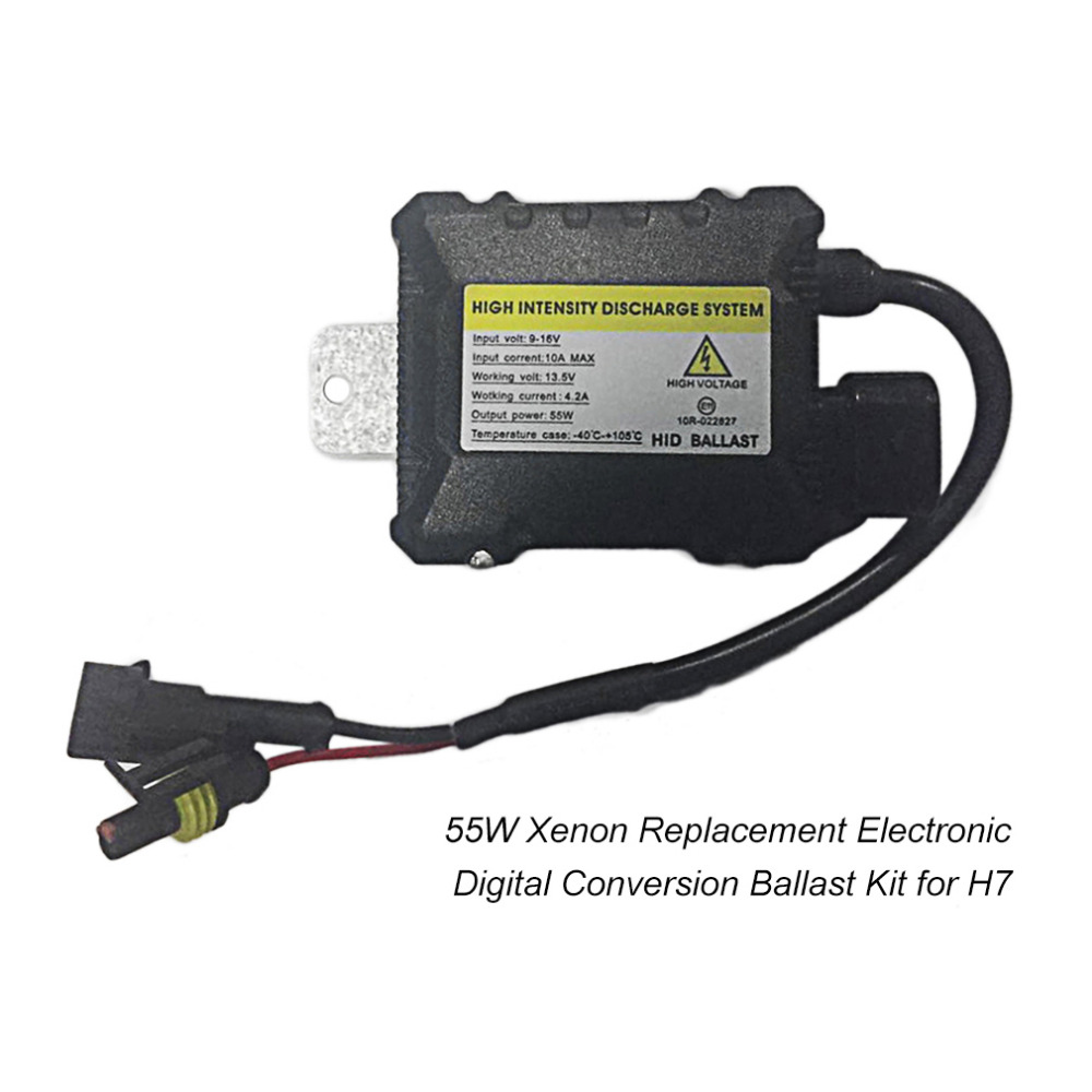 где купить 55W Car Motorcycle HID Ballast Electronic Control Gear HID Xenon Digital Conversion Ballast Kit for H1 H3 H3C H4-1 H4-2 H7 H8 дешево