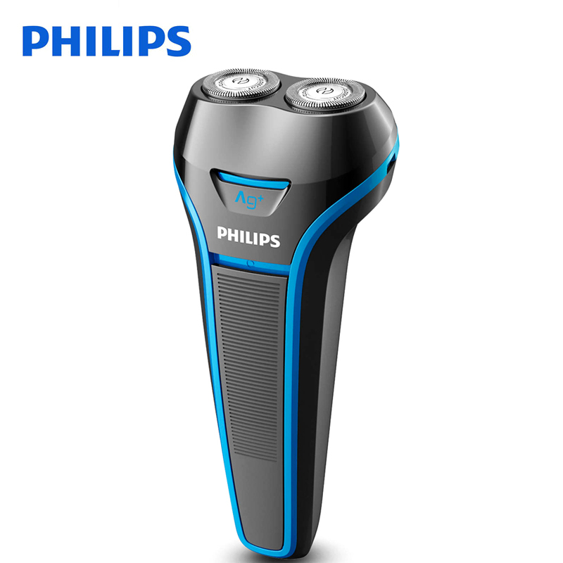 Philips Electrice Shaver S116 Rotary Rechargeable For Men's Electric Razor Washable With Ni-MH Battery 100-240V Global Voltage philips s531 rechargeable electric shaver water washable razor