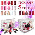 Elite99 7.3ml Nail Polish Set Any 5 Color Gels For Nails Gel Varnishes Need UV Curing Color Gorgeous Nails