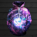 WORM HOLE HOODIE Galaxy Space Nebule 3d Fashion Sweatshirts Unisex Hipster Tops Women Casual Hoodies Hoody Sweats Men Jumper Out