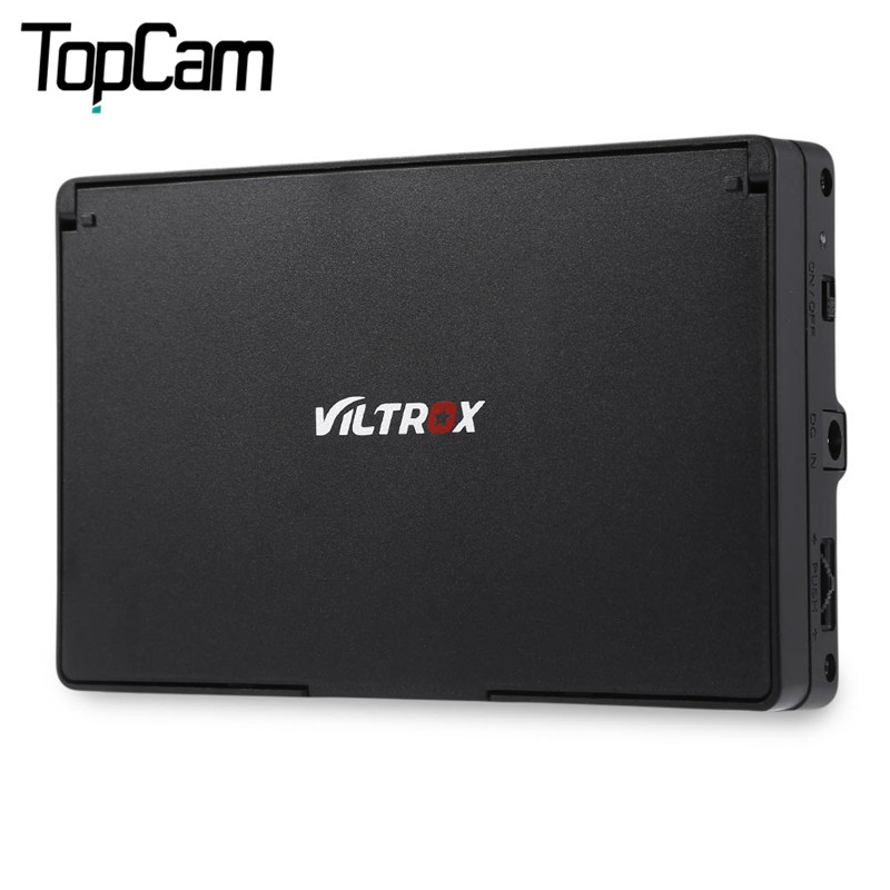 Prix pour Nouveau viltrox dc 50 portable 5 pouces 480 p clip-sur couleur de vision large angle lcd écran hdmi pour caméra
