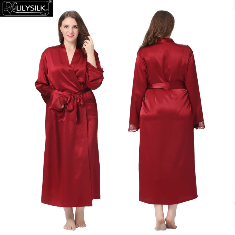 1000-claret-22-momme-lacey-cuff-full-silk-robe-plus-size-01
