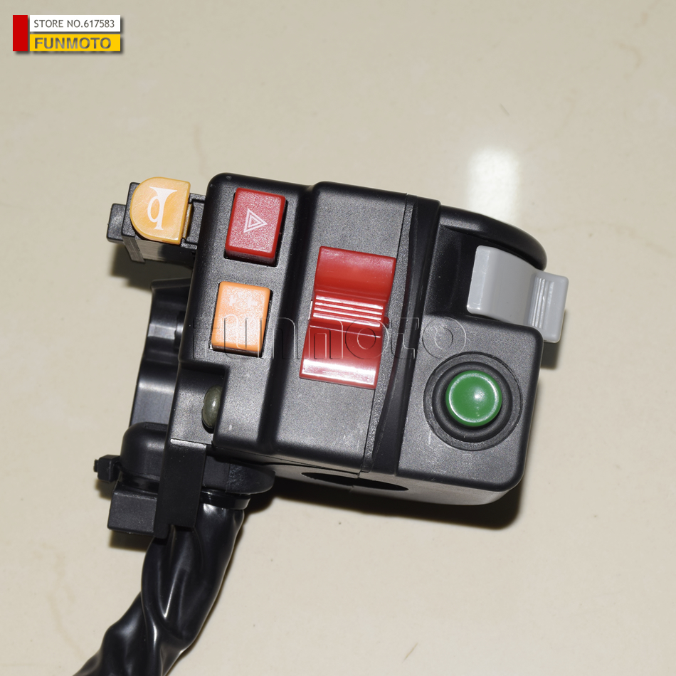 LEFT HANDLE BAR SWITCH SUIT FOR CF800/CFX8 PARTS CODE IS 7020-160600