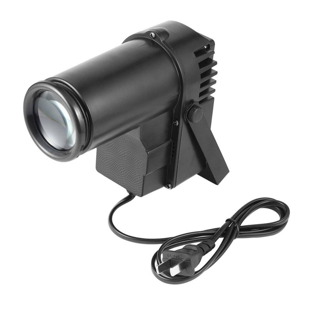 30W RGBW LED DMX512 Stage Light Pinpot Beam Spotlight 6CH DJ/DISCO/Party/KTV Led Stage Effect Light US / EU / AU Plug