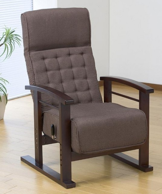 Stile giapponese sedia bassa poltrona pieghevole mobili piedini regolabili in altezza pigro per - Mobili stile giapponese ...