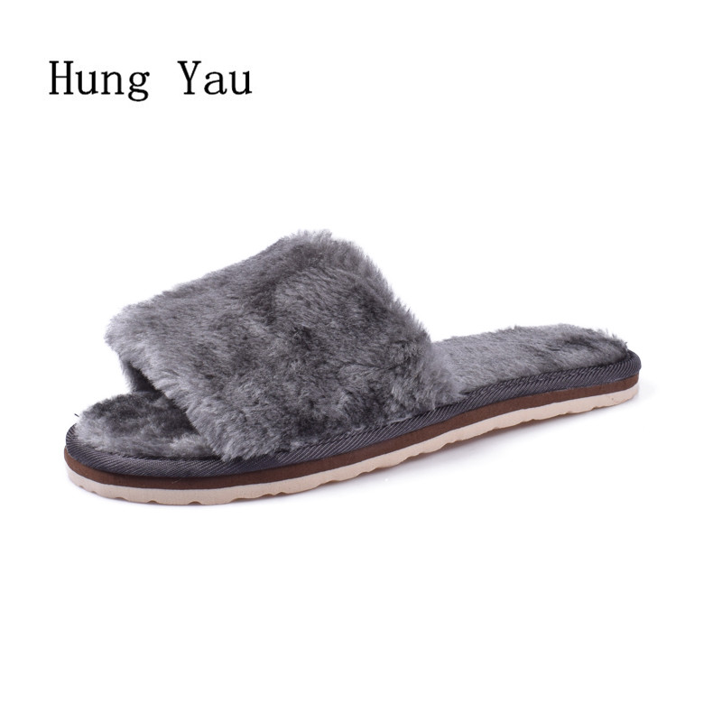 2017 Winter Women Flips Flops Shoes Woman Slippers Fashion Comfortable Female Slides Ladies Shoes Woman Flat Warm Slippers Women women sandals 2017 summer shoes woman flips flops wedges fashion gladiator fringe platform female slides ladies casual shoes