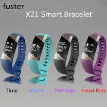 Fuster Bluetooth 4.0 Смарт Браслет IP-X57 Водонепроницаемый ЧАС Умный Браслет 0.73 Дюймов OLED Браслетов для iPhone 4S/5/5C/5S