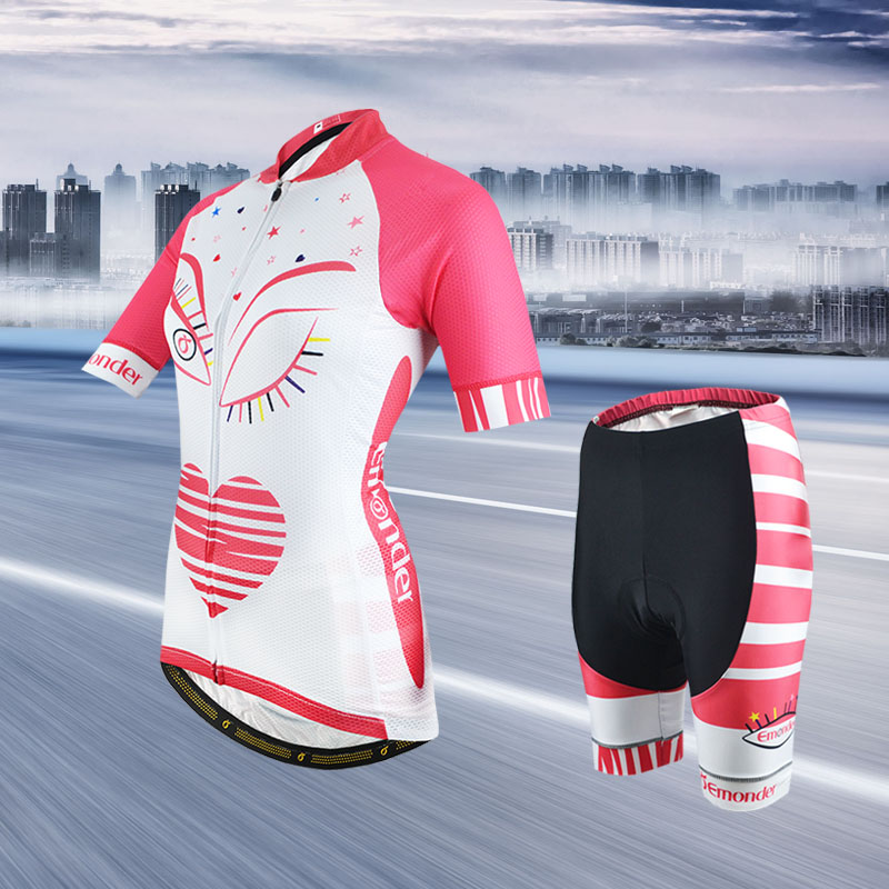 Summer Women MTB Bike Cycling Clothing Breathable High Quality Bicycle Clothes Ropa Ciclismo Quick-Dry Cycling Jersey Sets