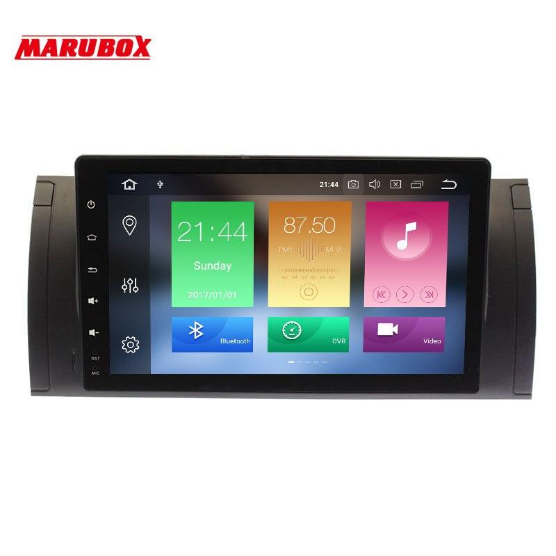 Marubox 9A901PX5 Car Multimedia for BMW E53 X5 00 06 E39 96 03 Android 9 8