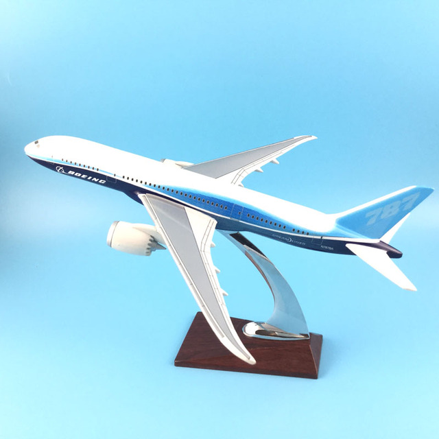 BOEING 787 LIVERY 1:200 31CM METAL ALLOY MODEL PLANE  AIRCRAFT Model Toys Model w Stand New Year/Birthday/Collections Gifts