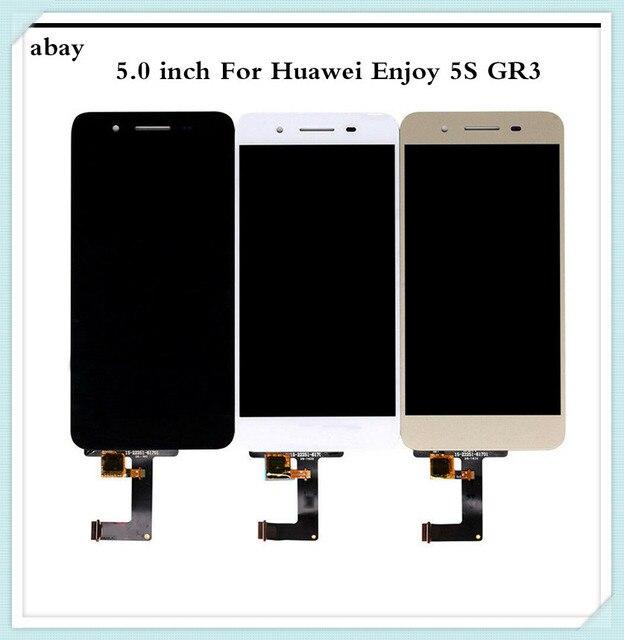 5.0 אינץ עבור Huawei GR3 LCD תצוגת מסך מגע ליהנות 5S P8 לייט חכם מסך TAG L21 TAG L22 TAG L03 TAG L01 TAG L13 TAG L23