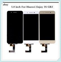 5.0 polegada para huawei gr3 display lcd tela de toque desfrutar 5S p8 lite tela inteligente TAG L21 TAG L22 TAG L03 TAG L01 TAG L13 TAG L23