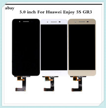 5,0 zoll Für Huawei GR3 LCD Display Touchscreen Genießen 5S P8 Lite Smart Bildschirm TAG L21 TAG L22 TAG L03 TAG L01 TAG L13 TAG L23