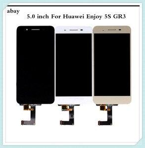 Image 1 - 5,0 zoll Für Huawei GR3 LCD Display Touchscreen Genießen 5S P8 Lite Smart Bildschirm TAG L21 TAG L22 TAG L03 TAG L01 TAG L13 TAG L23