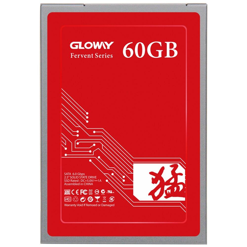 Gloway Venta caliente SSD 240 GB 60 GB unidad de estado sólido SATA III 2,5