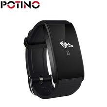 Potino A58 Смарт Браслет Приборы для измерения артериального давления Часы Heart Rate крови кислородом Мониторы Спорт браслет Фитнес трекеры