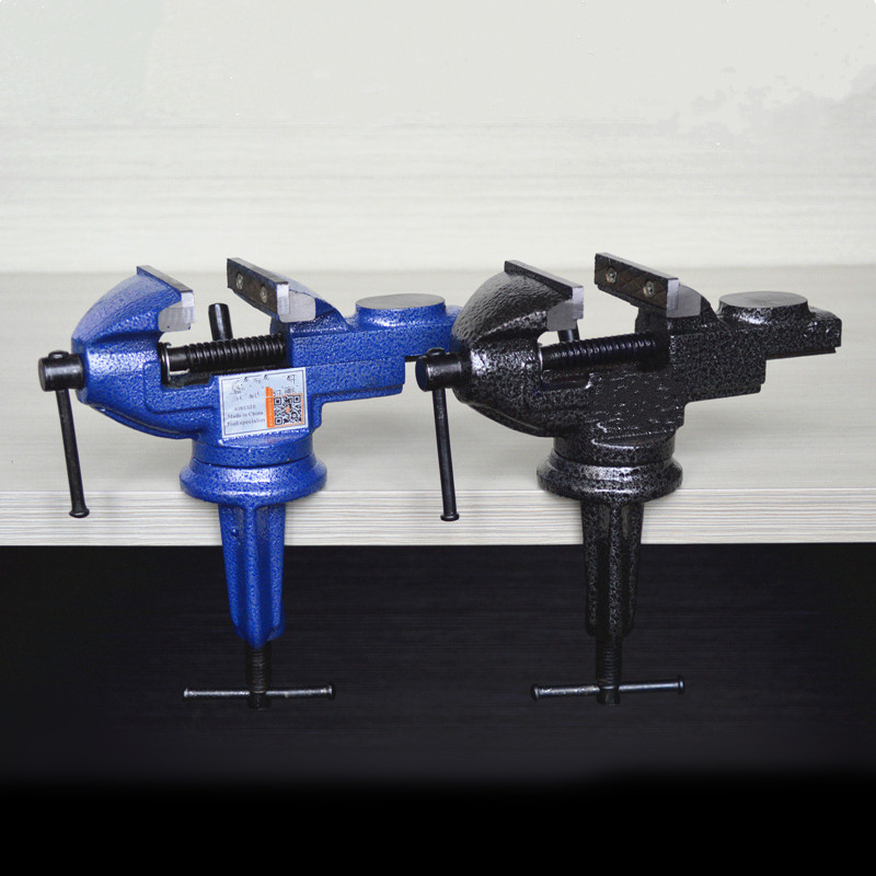 High quality mini vise bench clamp carpentry clamps Table vice universal table clamp tool Hand tool repair tool  mini table vice aluminium alloy bench vise universal machine mini fixed repair tool widely used for diy craft clamp vise