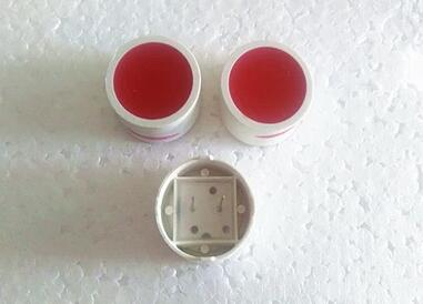 100PCS X 18MM Red Round Plane Tube Planar Digital Tube LED Display Module 2Pin For Table Game Machine